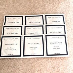 Beautycounter Set of 3 Sample sets Rejuvenating